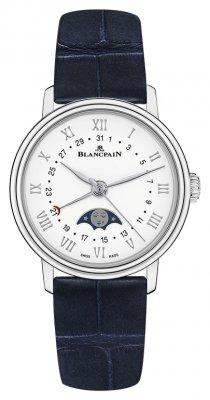 Blancpain Villeret Quantieme Phases de Lune 29.2mm 6106-1127-55a watch