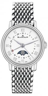 Blancpain Villeret Quantieme Phases de Lune 29.2mm 6106-1127-mmb watch