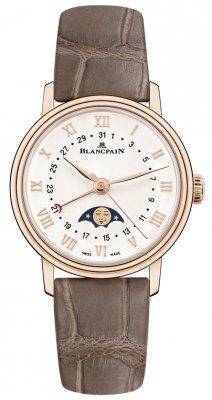 Blancpain Villeret Quantieme Phases de Lune 29.2mm 6106-3642-55a watch