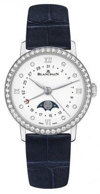 Blancpain Villeret Quantieme Phases de Lune 29.2mm 6106-4628-55a watch