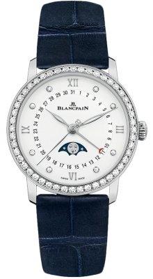 Blancpain Villeret Quantieme Phases de Lune 33.2mm 6126-4628-55b watch