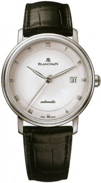 Blancpain Villeret Ultra Slim Automatic 38mm Mens watch, model number - 6223-1127-55b, discount price of £4,955.00 from The Watch Source