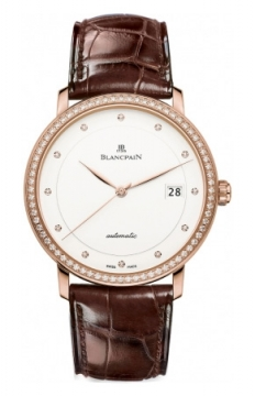 Blancpain Villeret Ultra Slim Automatic 38mm Mens watch, model number - 6223-2987-55b, discount price of £13,396.00 from The Watch Source