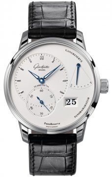 Glashutte Original PanoReserve Manual Wind 40mm Mens watch, model number - 1-65-01-22-12-04, discount price of £6,489.00 from The Watch Source