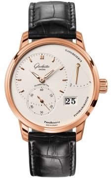 Glashutte Original PanoReserve Manual Wind 40mm Mens watch, model number - 1-65-01-25-15-04, discount price of £13,209.00 from The Watch Source