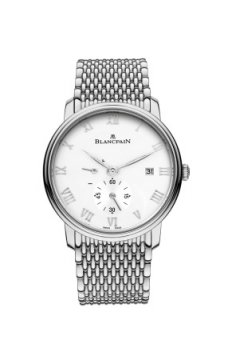 Blancpain Villeret Small Seconds Date & Power Reserve Mechanical Mens watch, model number - 6606-1127-mmb, discount price of £8,603.00 from The Watch Source