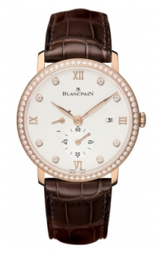 Blancpain Villeret Small Seconds Date & Power Reserve Mechanical Mens watch, model number - 6606-2987-55B, discount price of £15,030.00 from The Watch Source