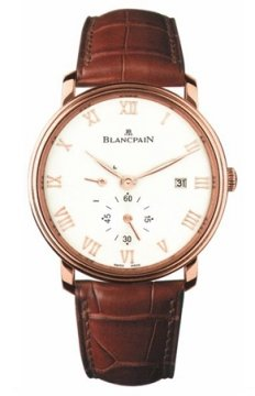 Blancpain Villeret Small Seconds Date & Power Reserve Mechanical Mens watch, model number - 6606-3642-55b, discount price of £10,664.00 from The Watch Source