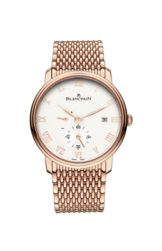 Blancpain Villeret Small Seconds Date & Power Reserve Mechanical Mens watch, model number - 6606-3642-mmb, discount price of £23,856.00 from The Watch Source
