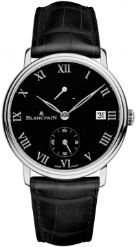 Blancpain Villeret 8 Days Manual Wind Mens watch, model number - 6614-3437-55b, discount price of £31,040.00 from The Watch Source