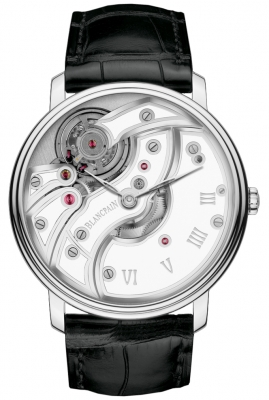 Blancpain Villeret Inverse Movement 43mm 6616-1527-55b watch