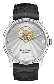 Blancpain Villeret Carrousel 42mm Mens watch, model number - 66228-3442-55b, discount price of £78,965.00 from The Watch Source