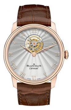 Blancpain Villeret Carrousel 42mm Mens watch, model number - 66228-3642-55b, discount price of £66,342.00 from The Watch Source