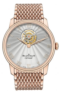 Blancpain Villeret Carrousel 42mm Mens watch, model number - 66228-3642-mmb, discount price of £77,732.00 from The Watch Source