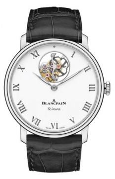 Blancpain Villeret 12 Days Tourbillon 42mm Mens watch, model number - 66240-3431-55b, discount price of £87,805.00 from The Watch Source
