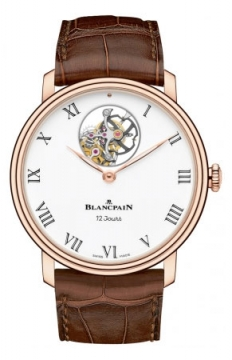 Blancpain Villeret 12 Days Tourbillon 42mm Mens watch, model number - 66240-3631-55b, discount price of £75,182.00 from The Watch Source