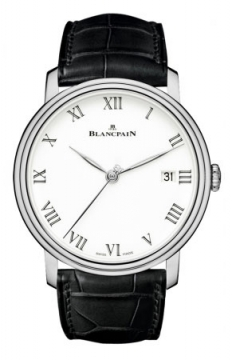 Blancpain Villeret 8 Days Automatic 42mm Mens watch, model number - 6630-1531-55b, discount price of £16,440.00 from The Watch Source
