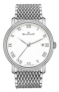 Blancpain Villeret 8 Days Automatic 42mm Mens watch, model number - 6630-1531-mmb, discount price of £29,871.00 from The Watch Source