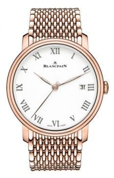 Blancpain Villeret 8 Days Automatic 42mm Mens watch, model number - 6630-3631-mmb, discount price of £29,871.00 from The Watch Source