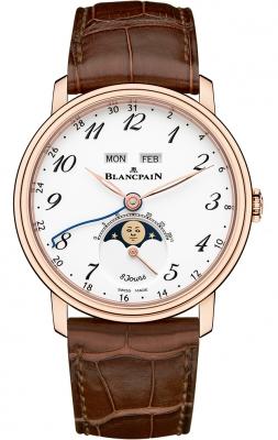 Blancpain Villeret Complete Calendar 8 Days 6639a-3631-55b watch