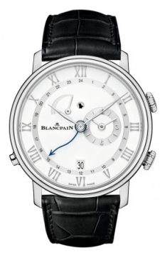 Blancpain Villeret Reveil GMT Mens watch, model number - 6640-1127-55b, discount price of £14,060.00 from The Watch Source