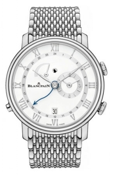 Blancpain Villeret Reveil GMT Mens watch, model number - 6640-1127-mmb, discount price of £15,937.00 from The Watch Source