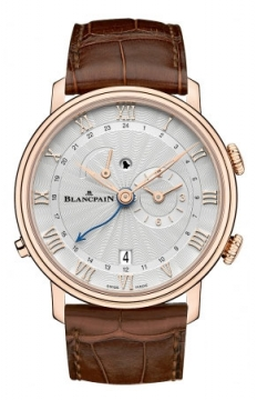 Blancpain Villeret Reveil GMT Mens watch, model number - 6640-3642-55b, discount price of £22,553.00 from The Watch Source