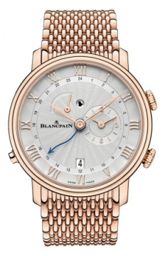 Blancpain Villeret Reveil GMT Mens watch, model number - 6640-3642-mmb, discount price of £32,878.00 from The Watch Source