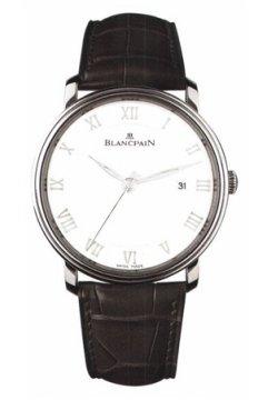 Blancpain Villeret Ultra Slim Automatic 40mm Mens watch, model number - 6651-1127-55b, discount price of £5,565.00 from The Watch Source