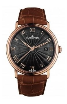 Blancpain Villeret Ultra Slim Automatic 40mm Mens watch, model number - 6651-3630-55br, discount price of £11,647.00 from The Watch Source