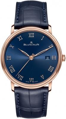 Blancpain Villeret Ultra Slim Automatic 40mm 6651-3640-55b watch