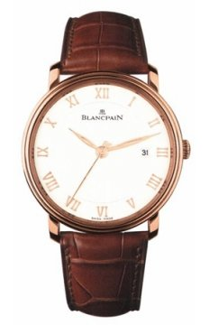 Blancpain Villeret Ultra Slim Automatic 40mm Mens watch, model number - 6651-3642-55b, discount price of £11,075.00 from The Watch Source