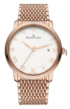 Blancpain Villeret Ultra Slim Automatic 40mm Mens watch, model number - 6651-3642-mmb, discount price of £24,106.00 from The Watch Source