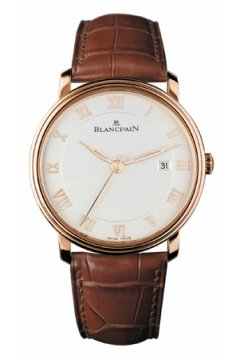 Blancpain Villeret Ultra Slim Automatic 40mm Mens watch, model number - 6651-3642-55, discount price of £11,093.00 from The Watch Source