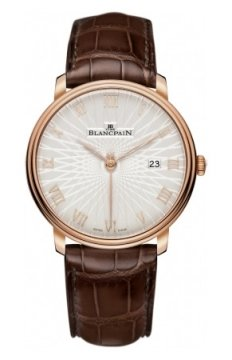 Blancpain Villeret Ultra Slim Automatic 40mm Mens watch, model number - 6651c-3642-55a, discount price of £11,857.00 from The Watch Source