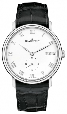 Blancpain Villeret Ultra Slim Day Date 40mm 6652-1127-55b watch