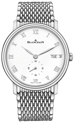 Blancpain Villeret Ultra Slim Day Date 40mm 6652-1127-mmb watch