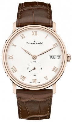 Blancpain Villeret Ultra Slim Day Date 40mm 6652-3642-55a watch