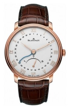 Blancpain Villeret Ultra Slim Date 30 Seconds Retrograde Mens watch, model number - 6653q-3642-55b, discount price of £12,790.00 from The Watch Source