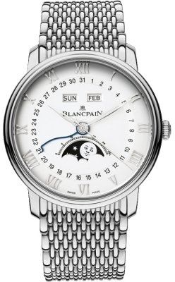 Blancpain Villeret Moonphase & Complete Calendar 40mm 6654a-1127-mmb watch