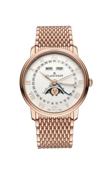 Blancpain Villeret Moonphase & Complete Calendar 40mm Mens watch, model number - 6654-3642-mmb, discount price of £26,562.00 from The Watch Source