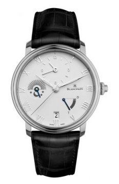 Blancpain Villeret Half Timezone Mens watch, model number - 6660-1127a-55b, discount price of £9,495.00 from The Watch Source