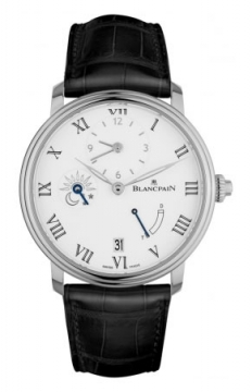 Blancpain Villeret 8 Days Half Timezone Mens watch, model number - 6661-1531-55b, discount price of £26,205.00 from The Watch Source