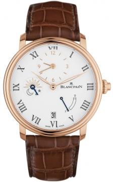 Blancpain Villeret 8 Days Half Timezone 6661-3631-55b watch