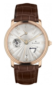 Blancpain Villeret Half Timezone Mens watch, model number - 6665-3642-55B, discount price of £17,637.00 from The Watch Source