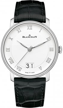 Blancpain Villeret Grand Date 40mm 6669-1127-55b watch