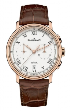 Blancpain Villeret Flyback Chronograph Pulsometer 43.60mm Mens watch, model number - 6680f-3631-55b, discount price of £17,990.00 from The Watch Source