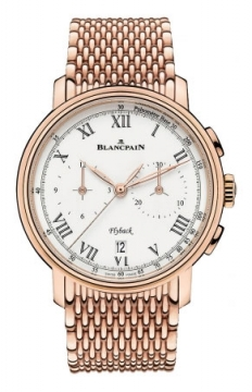 Blancpain Villeret Flyback Chronograph Pulsometer 43.60mm Mens watch, model number - 6680f-3631-mmb, discount price of £31,540.00 from The Watch Source