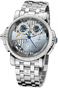 Ulysse Nardin Sonata Silicium Mens watch, model number - 670-85-8, discount price of £62,581.00 from The Watch Source