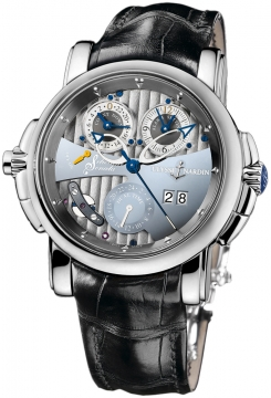 Ulysse Nardin Sonata Silicium Mens watch, model number - 670-85, discount price of £40,552.00 from The Watch Source